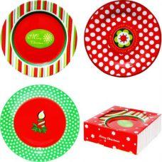 Набор десертных тарелок Новый год SnT 30883