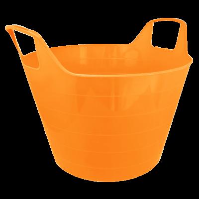 """Корзина универсальная """"Уно"""" (светло-оранжевый) Алеана 122090"""