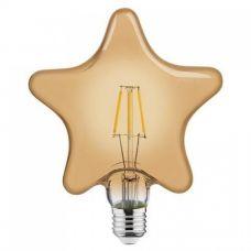 """Лампа """"RUSTIC STAR-6"""" 6W Filament led 2200К E27"""
