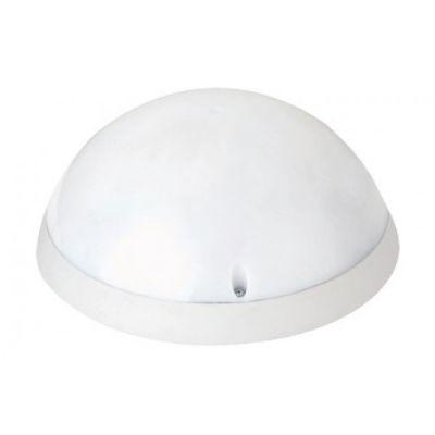 Светильник пластиковый Акуа Полная Луна Опал LED 12W IP54 (черный, белый)