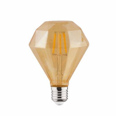 "Лампа ""RUSTIC DIAMOND-4"" 4W Filament led 2200К E27"