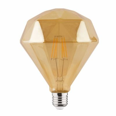 "Лампа ""RUSTIC DIAMOND-6"" 6W Filament led 2200К E27"