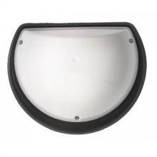 Светильник пластиковый Акуа Полумесяц Опал IP54 E27 (черный, белый)
