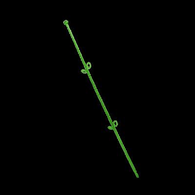 """Опора для орхидей """"Сфера"""" 56 см (ультра зеленый PS) Алеана 114044"""