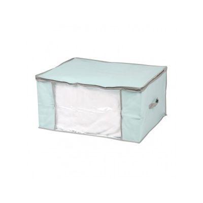 Кофр для одеяла, голубой, 60*45*30,5 см, ТМ МД