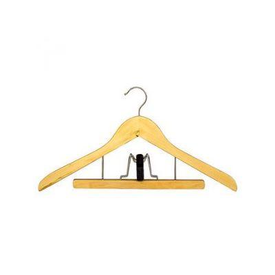 Вешалка одежная, ТМ МД, с прищепкой д/брюк, 44,5 х 23,5 х 1,4 см