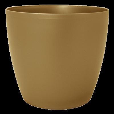 Вазон «Матильда» 12*11 см 0,9 л (бронзовый) Алеана 113082