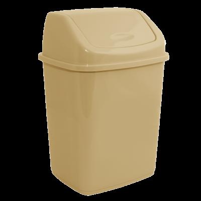 Ведро для мусора 5 л (кремовый) Алеана 122061