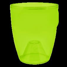 Вазон «Орхидея» 12*14 см 1 л (ультра-зеленый PS) Алеана 113093