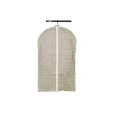 Чехол для одежды бежевый 100*60 см, ТМ МД