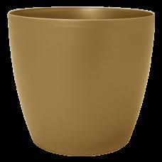 Вазон «Матильда» 16*15 см 2,1 л (бронзовый) Алеана 113083