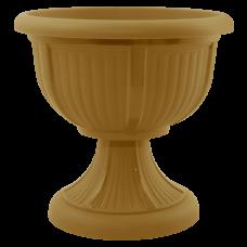Вазон с подставкой «Леон» 31*29,5 см 6 л (бронзовый) Алеана 114003