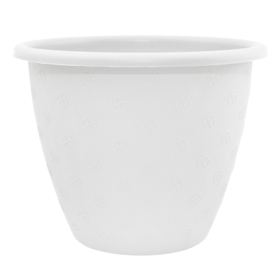 Вазон «Верона» 21*16,5 см 3,2 л (белый) Алеана 112014