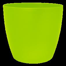 Вазон «Матильда» с поливом и дренажом 12*11 см 0,9 л (оливковый) Алеана 114092