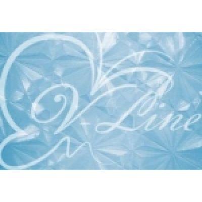Шторка для ванной V-Line 66662-T-015-1 голуб
