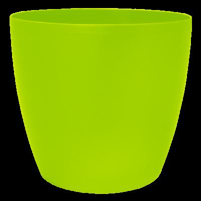 Вазон «Матильда» с поливом и дренажом 24*22 см 7,6 л (оливковый) Алеана 114095