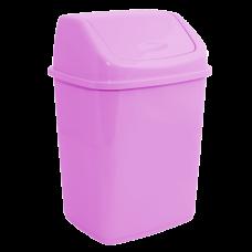 Ведро для мусора 5 л (розовый) Алеана 122061