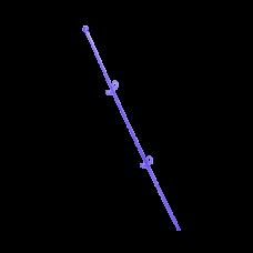 """Опора для орхидей """"Сфера"""" 56 см (фиолетовый прозрачный PS) Алеана 114044"""