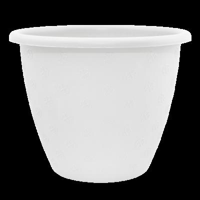 Вазон «Верона» 13*10 см 0,7 л (белый) Алеана 112017