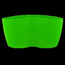 Вазон кактусник 3 растения 17*16,5*9 см 1,1 л (светло-зеленый) Алеана 113053