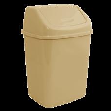 Ведро для мусора 18 л (кремовый) Алеана 122065