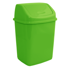 Ведро для мусора 5 л (светло-зеленый) Алеана 122061
