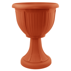 Вазон с подставкой «Леон» (глубокий) 41*53,5 см 15 л (терракот) Алеана 114007