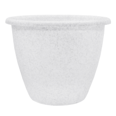 Вазон «Верона» 45*34 см 31,5 л (белый флок) Алеана 112011