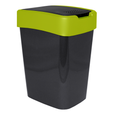 "Ведро для мусора ""Евро"" 18 л (гранит/оливковый) Алеана 122067"