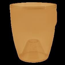 Вазон «Орхидея» 12*14 см 1 л (янтарный PS) Алеана 113093