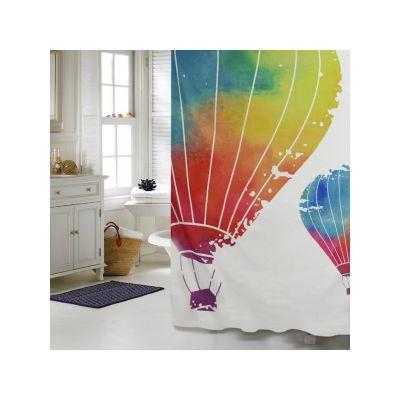 """Шторка для ванной комнаты """"Воздушный шар"""", 180*200 cм"""