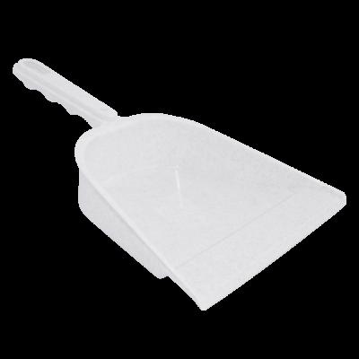 Совок для мусора (белый флок) Алеана 122069