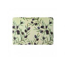 Коврик сервировочный под столовые приборы, полипропилен оливки, 30х45 см, ТМ МД