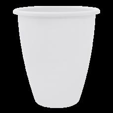 Вазон «Лукас» 13*15 см 1,1 л (белый) Алеана 113097