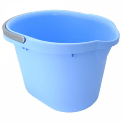 Ведро для уборки 15 л (голубой) Алеана 122022