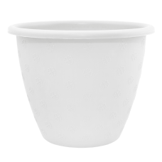 Вазон «Верона» 15*11,5 см 1,1 л (белый) Алеана 112016