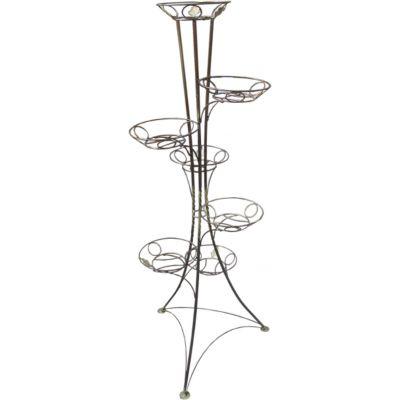 Подставка под вазоны на 7 горшков Башня Водолей ЯП