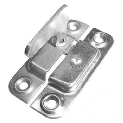 Завертка форточная никелированая 70 мм