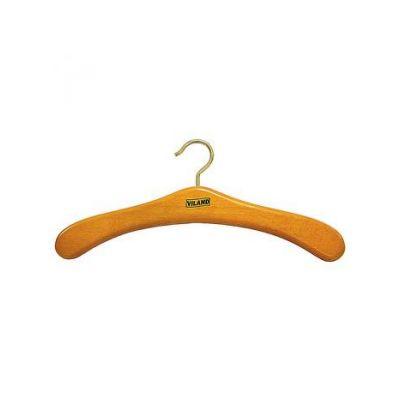 """Вешалка буковая для верхней одежды """"вишня"""", 44,5 х 1,8 см, VILAND"""