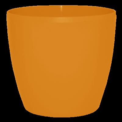 Вазон «Матильда» 12*11 см 0,9 л (светло-оранжевый) Алеана 113082