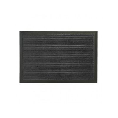 Коврик придверный с узором черный, полипропилен,ТМ МД, 40*60 см