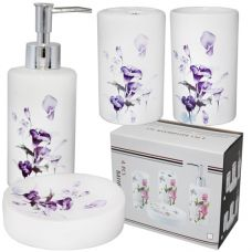 Набор аксессуаров для ванной комнаты Каллы SnT 888-105