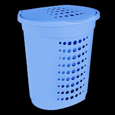Корзина для белья 60 л (голубой) Алеана 122053