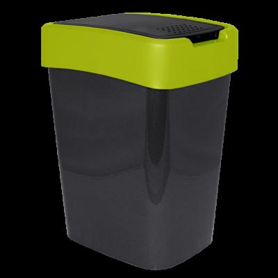 "Ведро для мусора ""Евро"" 10 л (гранит/оливковый) Алеана 122066"