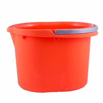 Ведро для уборки 15 л (оранжевый) Алеана 122022