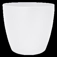 Вазон «Матильда» 24*22 см 7,6 л (белый перламутр) Алеана 113085