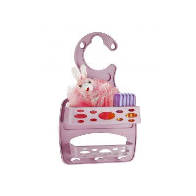 Полочка в ванную комнату пластиковая, Pronto, ТМ Lux