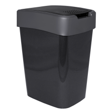 "Ведро для мусора ""Евро"" 18 л (гранит/серый) Алеана 122067"