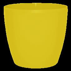 Вазон «Матильда» 16*15 см 2,1 л (тёмно-жёлтый) Алеана 113083