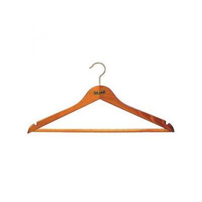"""Вешалка одежная с нарезами """"вишня"""", 44 х 1,3 см, VILAND"""
